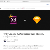 Adobe XDがSketchよりも優れている理由