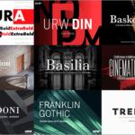 Futura, Din, Bodoniなど人気フォントが驚愕の99%オフ!絶対見逃せない期間限定の超特大セールが開催です