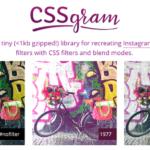 CSSイメージフィルターライブラリ & ツール 15選