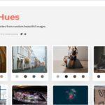 unsplashの写真から自動でカラーパレットを作成している・「ImageHues」
