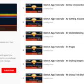 UIデザインツールSketch(スケッチ)の使い方を学ぶ おすすめYouTube動画 無料チュートリアル12選
