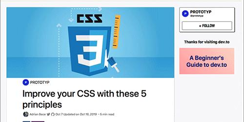 CSSは奥が深い!セレクタの書き方・命名や管理を改善する5つの原則
