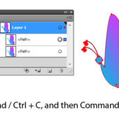 Adobeイラストレーターで、オブジェクトを変形&複製する方法