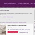 Photoshopブラシ素材を無料でダウンロードできるサイト10選 すぐに使える海外の高品質デザイン見本