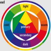 Webデザインにカラーパレット・色相関図の配色を活かしたWebサイト例 ブランドイメージを統一する色の組み合わせ