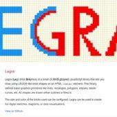 LEGO®ライクなグラフィックを描ける軽量なJavaScriptライブラリ・「Legra」