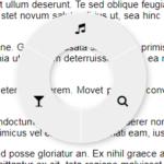 右クリックで円形メニュー実装「radialMenu」