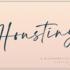 有料フォントが今だけ無料!スラスラとした手書きの質感がかっこいいブラシフォント -Houstiny