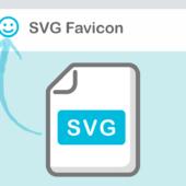 SVG形式のファビコンを設置しよう
