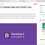 Bootstrap 5のリリースはもうすぐみたい!注目の新機能、jQueryは削除、IE10のサポートは終了へ