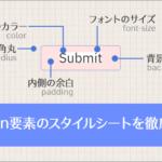 [CSS] button要素のスタイルシート、最新テクニックを徹底解説