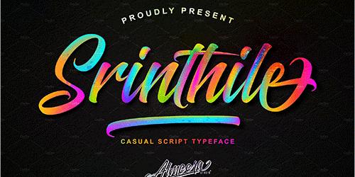 有料フォントが今週末まで無料!ロゴのデザインにぴったりな楽しいフォント -Painted Brush Fonts