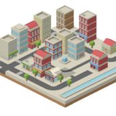JSでcimcityっぽく街をモデルする「isocity」
