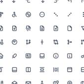 シンプルで丸みのある見栄えが可愛い300種類以上のアイコンセット「Tabler Icons」