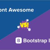 Bootstrap 5の新しいアイコンとFont Awesomeアイコンのそれぞれの使い方と使いやすさを比較
