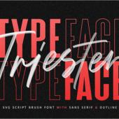 有料フォントが今週末まで無料!SVGフォントを使ってみたい人にぴったりなフォント -Triester SVG Brush Font