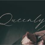 有料フォントが今週末まで無料!美しい、ただただ美しいエレガントでフェミニンな手書きフォント -Queenly