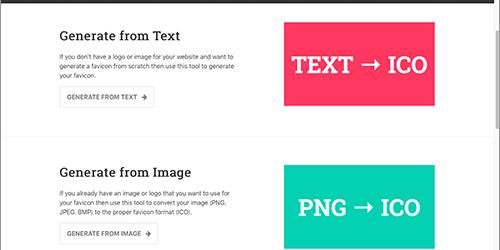 ファビコンを簡単に作成できる無料ツール!テキスト・画像・絵文字から生成でき、各デバイスのサイズにも対応 -favicon.io