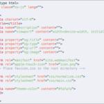 HTMLでWebページを実装するための必要最小限をまとめたフロントエンド用のテンプレート一式(IE11も対応)