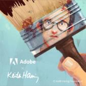【朗報】Adobe公式からPhotoshopとFresco向けに、キース・ヘリングのタッチを再現した無料ブラシがリリース