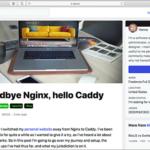 NginxからCaddyに変更した際の作業手順、デザイナーにもお勧めの簡単で高性能なWebサーバー