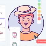便利なイラスト素材が登場!表情や髪型、さまざまなパーツを組み合わせて使用できる人物イラスト素材 -Wrrooom!