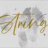 通常は有料だけど、今週末まで無料!おしゃれなデザインにぴったりな手書きフォント -Strings