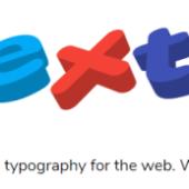 インタラクティブに動く立体的なテキストを生成「ztext.js」