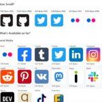 各SNSやWebアプリなどのアイコンを全て1KB以下で作られた軽量SVGアイコン集・「Super Tiny Icons」