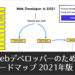 2021年版、フロントエンドとバックエンドのデベロッパーに必要なスキルやツールをまとめたロードマップ
