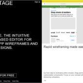 iOSアプリ向けのブラウザベースのワイヤーフレームツール・「Stage」