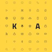 かわいい丸形汎用アイコンセット「akar-icons」