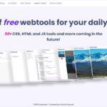 Web制作をサポートする実用的なツールを50以上公開している・「toolb.dev」