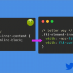 CSSでブロック要素の幅をコンテンツのサイズぴったりにしたい時のこれからの記述方法