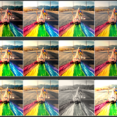 FilterSS – List of CSS image effects, click to copy the code