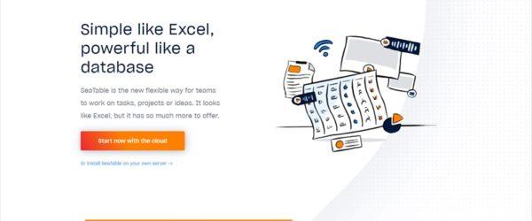 オンプレミスの選択肢も用意されたAirtable代替のExcelライクに使えるデータベースサービス・「SeaTable」