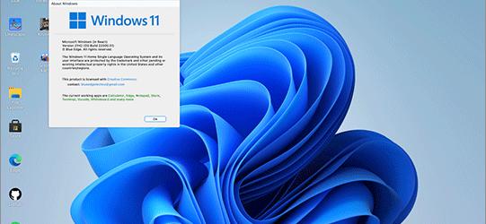 Windows 11をインストールせずに、UIを試せる!Reactで実装されたWindows 11
