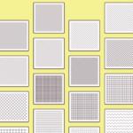 かわいい網目模様パターン素材集「Basic Pattern Repository」