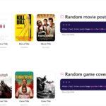 映画ポスターやCDアルバムのカバー、本のカバーなどのダミー画像アプリ・「Lorem.space」