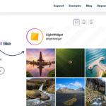 Instagramの投稿一覧をWebサイトに表示できる【LightWidget】